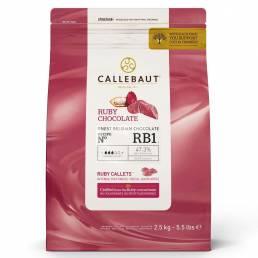 Ruby RB1 Callets von Callebaut