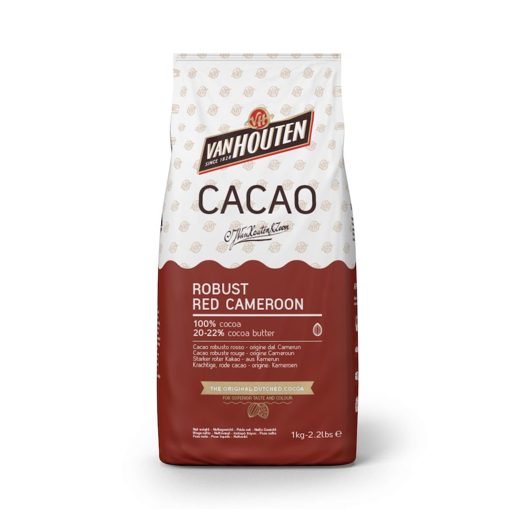 Robust Red Cameroon Kakao van Houten (Callebaut)