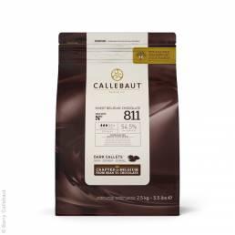Callebaut 811 Callets dunkle Schokolade
