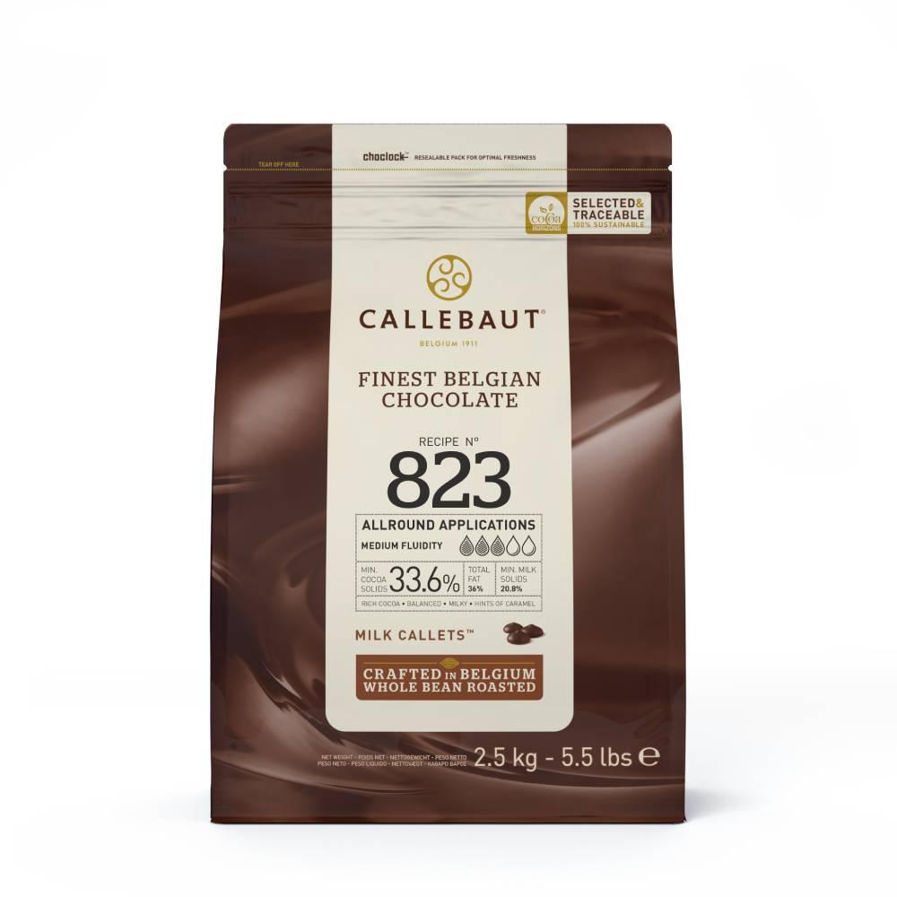 Die Nr. 1 Schokolade -Recipe 823 Vollmilch Callets