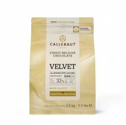 Callebaut VELVET weiße Callets