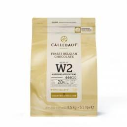 Callebaut W2 Callets weiße Schokolade