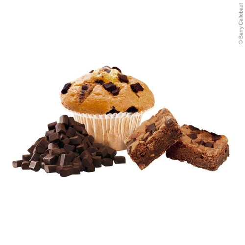 Muffin / Cupcake mit dunklen Chunks backfest