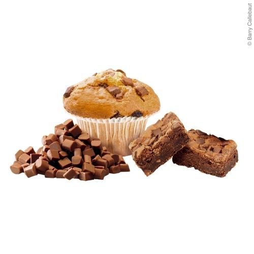 Muffin mit Vollmilch backfesten Chocolate Chunks