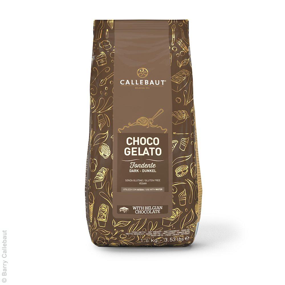 Callebaut Fondente Choco Gelato Fertigmischung für Eis