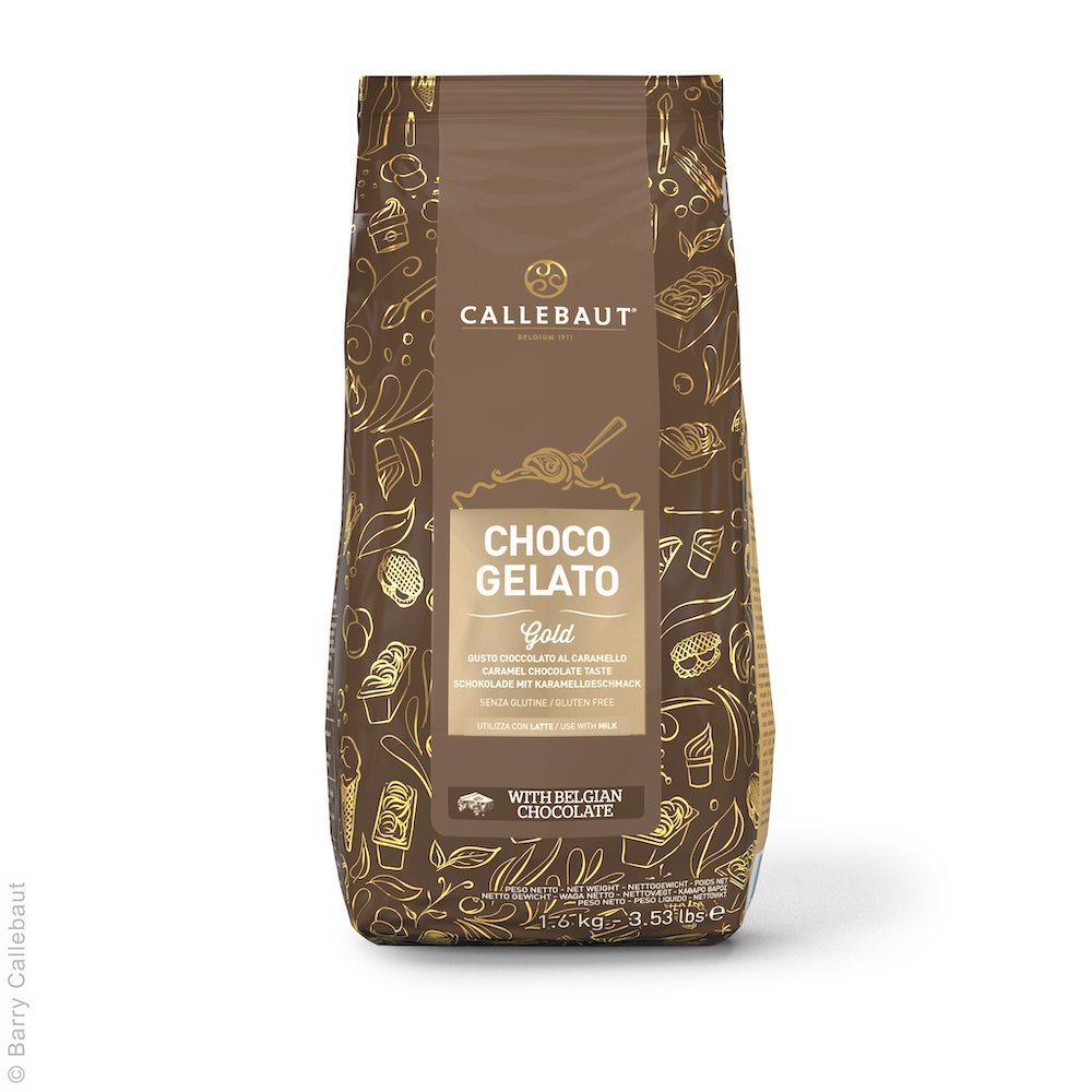 Choco Gelato Gold Karamell von Callebaut