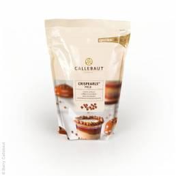 Milch Crispearls von Callebaut mit Verpackung